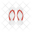 Flip Flop Sandal Slipper Icon