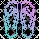 Sandal Slipper Footwear Icon