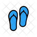 Flipflop Sandal Slipper Icon