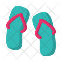Sandals Footwear Beach Icon
