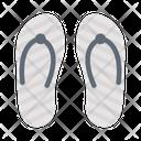 Slipper Flipflop Sandal Icon