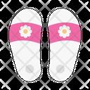 Slipper Sandal Footwear Icon