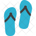 Slipper Shoes Vacation Icon