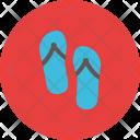 Slipper Shoe Feet Icon