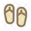 Slipper Slippers Sandals Icon