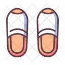 Slipper Night Footwear Icon