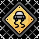 Slippery Road Slippery Road Icon