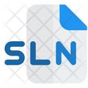 Sln File Audio File Audio Format Icon