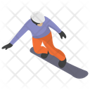 Slopestyle Snowboarding Icon