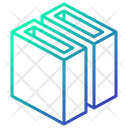 Slot Geometric Cube Icon