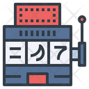 Slot Machine Casino Icon