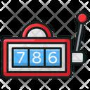 Video Game Slot Machine Casino Icon