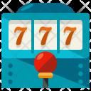 Slot Machine Game Icon