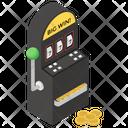 Video Game Slot Machine Casino Game Icon