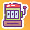 Slot Machine Lottery Machine Casino Game Icon