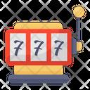 Slot Machine Casino Game Jackpot Gaming Icon