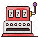 Slot Machine Video Game Casino Game Icon