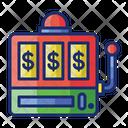 Slot Machine Coin Machine Caino Game Icon