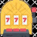 Slot Machine Casino Video Game Icon