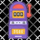 Slot Gaming Slot Machine Gaming Device Icon