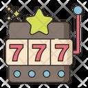 Slot Machine Coin Machine 777 Icon
