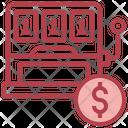 Slot Machine Coin Machine Casino Game Icon