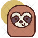 Sloth Pet Animal Icon