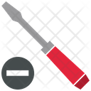 Slotted Screwdriver Icon
