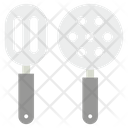 Slotted Spatula Cooking Tools Kitchen Utensils Icon