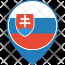 Slovakia Flag World Icon