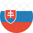 Slovakia Flag World Icon
