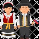 Slovakia Outfit Slovakia Clothing Slovakian Dresses Icon