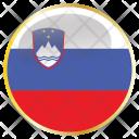Slovenia Slovenian Svn Icon