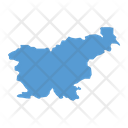 Slovenia Map Icon