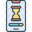 Slow Electronic Connection Icon