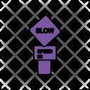 Slow Speed Board Icon