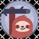 Avatar Lazybones Sloth Icon