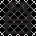 Slumber Wear Shirt Clothes Icon