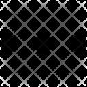Small Horizontal Menu Icon