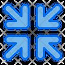 Small Minimize Direction Icon