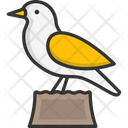 M Small Bird Icon