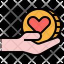 Small Donation Donate Charity Icon