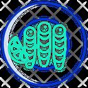 Small Dried Fish Icon