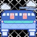 Small Monorail Car Icon