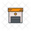 Small Shed Warehouse Storage Icon