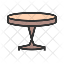 Table Small Furniture Icon