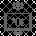 Smart Tv K Icon