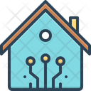 Smart Technology Home Icon