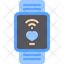 Smart Watch Heart Icon