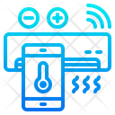 Smart Ac Smart Air Conditioner Air Condition Icon